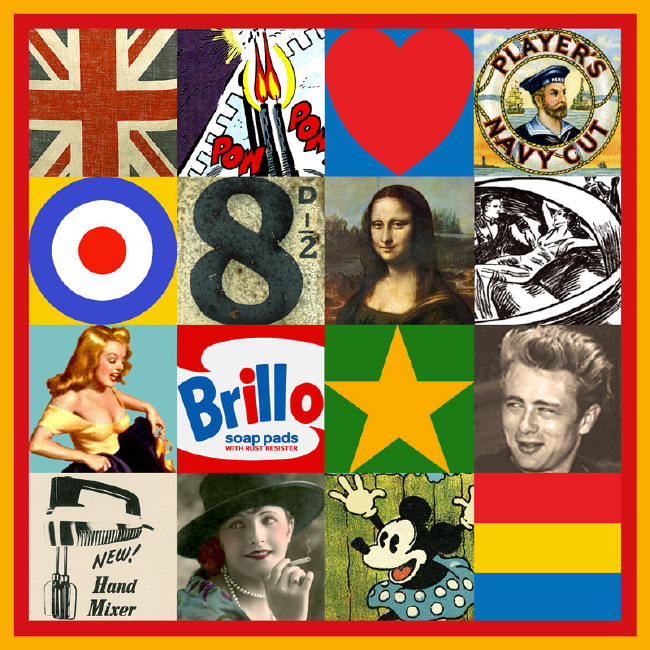 Peter Blake artwork