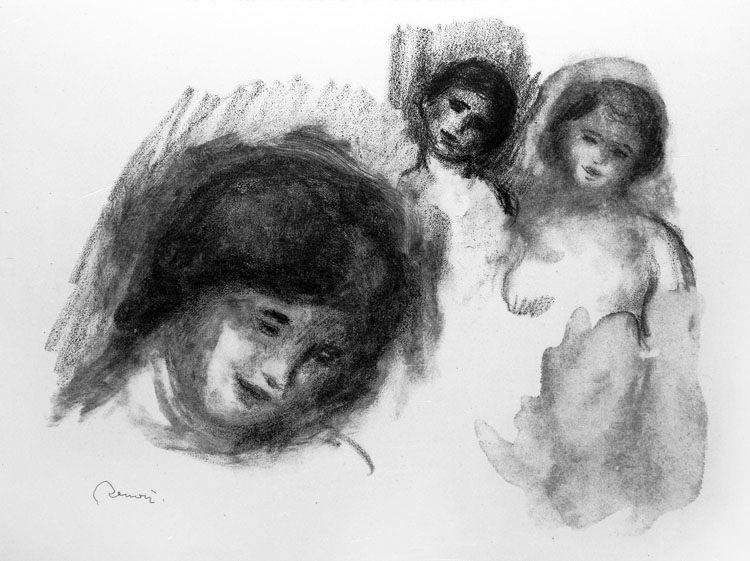 La Pierre au Trois Croquis (The Stone with Three Sketches)