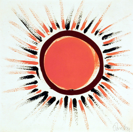 Orchard sunbursts (Orange)