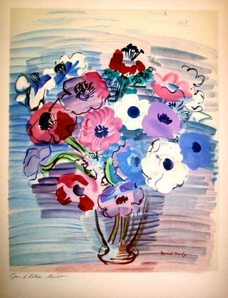 bouquet de fleurs raoul dufy prints original prints. Black Bedroom Furniture Sets. Home Design Ideas