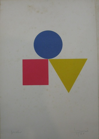 Untitled (Bauhaus Shapes)