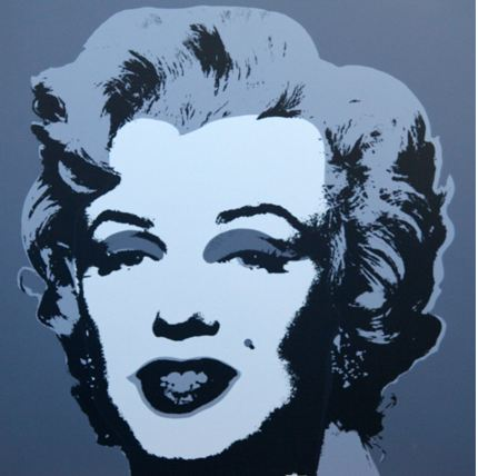 * Marilyn No 24, Sunday B Morning (after A. Warhol)