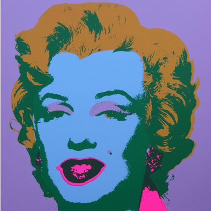 * Marilyn No 28, Sunday B Morning (after A. Warhol)