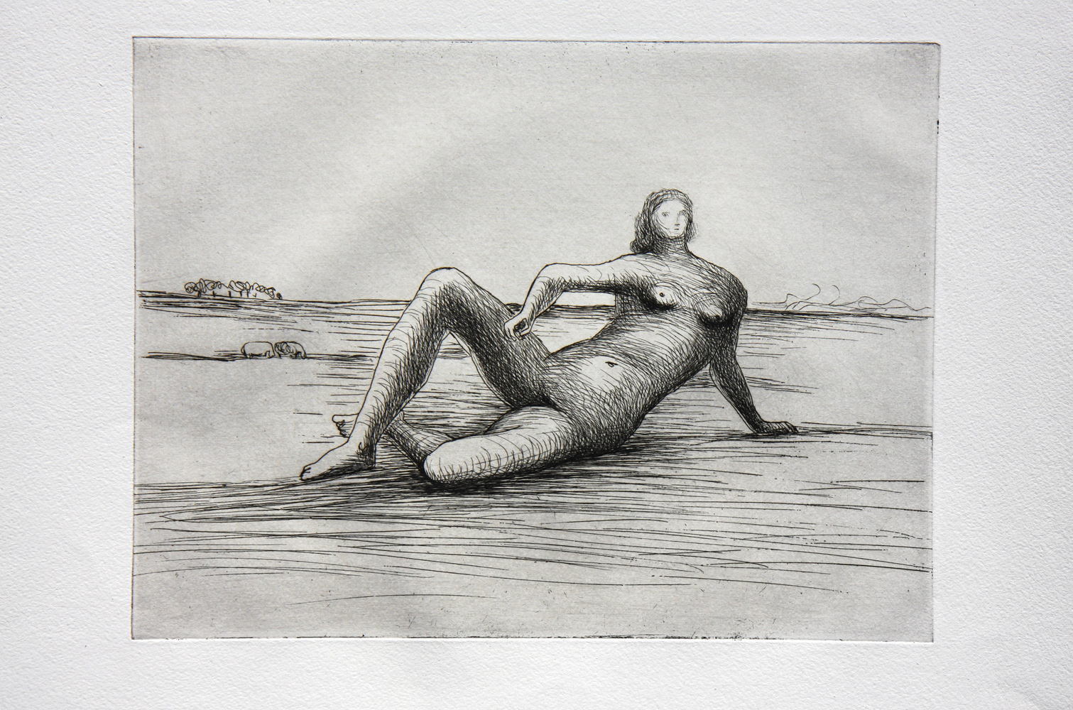 The Reclining Figure (Plate 4)