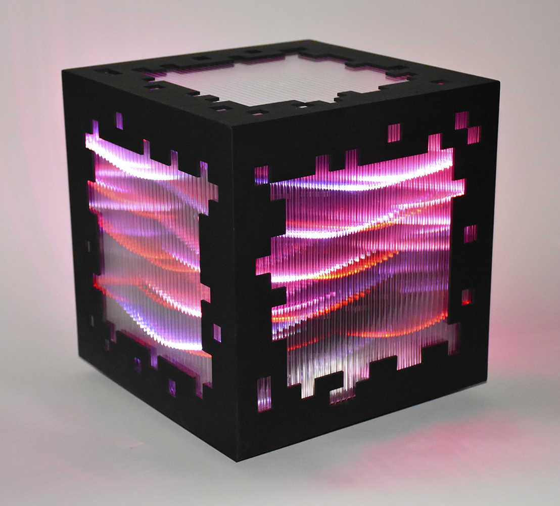 Mini voxels light red