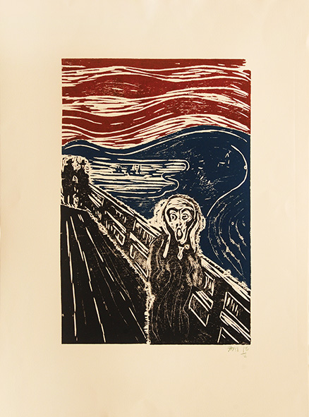 The Scream (after Munch).