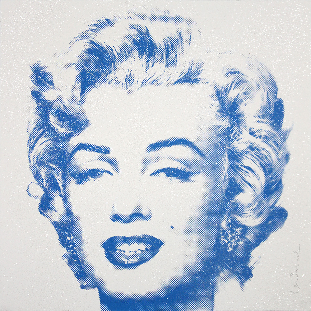 DIAMOND GIRL (BLUE) – MARILYN MONROE