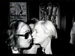 Andy Warhol Kissing Salvador Dali - click to enlarge