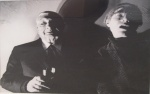 Andy Warhol and Giorgio de Chirico - click to enlarge