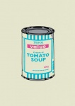 Soup Can (Turquoise Pink) - click to enlarge