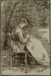 Woman Embroidering (Nini) - click to enlarge