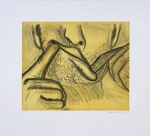Soft Ground Etching - Yellow - click to enlarge