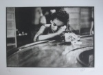 Cuban Bar Girl, Havana, 1954 [C.] - click to enlarge