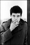 Ian Curtis, Joy Division. Hulme, Manchester, 6 January 1979 - click to enlarge