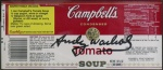 Campbell's Tomato Soup Label - click to enlarge