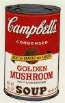 Campbell's Soup Can II - Golden Mushroom - click to enlarge