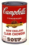 Campbell's Soup Can II - New England Clam Chowder - click to enlarge