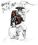 Vintage Dr. Gonzo (Hunter S. Thompson.) - click to enlarge