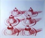 Six Desserts, from Recent Etchings II - click to enlarge