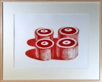Cherry Cakes, from Recent Etchings II - click to enlarge