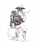 Dr. Gonzo. (Hunter S. Thompson.) - click to enlarge