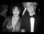Andy with Elizabeth Taylor - click to enlarge