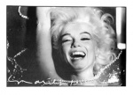 Marilyn Monroe Laughing in Pearls - click to enlarge