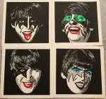 Kiss the Beatles COMPLETE SET  - click to enlarge