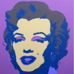 Marilyn No 27, Sunday B Morning (after A. Warhol) - click to enlarge