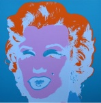 Marilyn No 29, Sunday B Morning (after A. Warhol) - click to enlarge