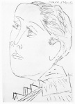 Portrait de Dora Maar au Chignon. I (Bloch 291) - click to enlarge