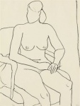 Seated Nude - click to enlarge