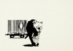 Banksy Barcode unsigned  - click to enlarge