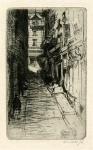 Dark Alley (small plate) - click to enlarge