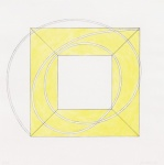Framed Square With Open Centre A (yellow) - click to enlarge