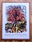 Chagall at Pace/Columbus August 7th – September 4th 1976 - click to enlarge