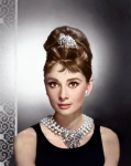 Audrey, - Print with diamond dust - click to enlarge