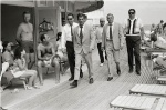 Frank Sinatra and Bodyguards, Miami Beach - click to enlarge