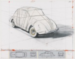 Wrapped Volkswagen (PROJECT FOR 1961 VOLKSWAGEN BEETLE SALOON) - click to enlarge