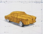 Wrapped Automobile, Project for 1950 Studebaker Champion, Series 9 G Coupe - click to enlarge