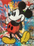MICKEY MOUSE (MIXED MEDIA) - click to enlarge
