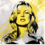 KATE MOSS (YELLOW) - click to enlarge