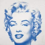 DIAMOND GIRL (BLUE) – MARILYN MONROE - click to enlarge