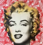 MARILYN FRAGILE (MIXED MEDIA) - click to enlarge