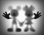 Gone Mickey and Minnie - click to enlarge