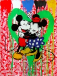 Mickey & Minnie (green heart) - click to enlarge