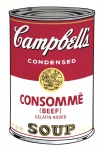 Campbell's Soup I: Consommé (FS II.52) - click to enlarge