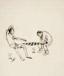 Untitled (Chesches Players outside the One-Armed Snake) - click to enlarge